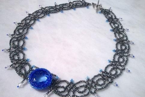Из бисера ожерелье своими руками
