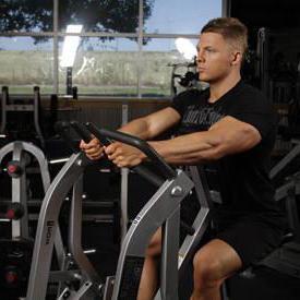 упражнение рычажная тяга