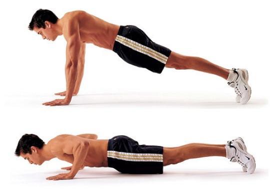 Упражнения для грудных мышц в домашних условиях