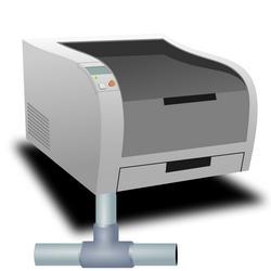 Установка сетевого принтера в виде отдельного элемента сети