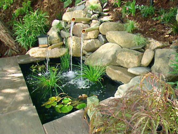 фонтаны для садов