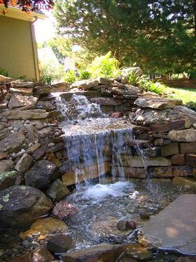 садовые фонтаны из полистоуна