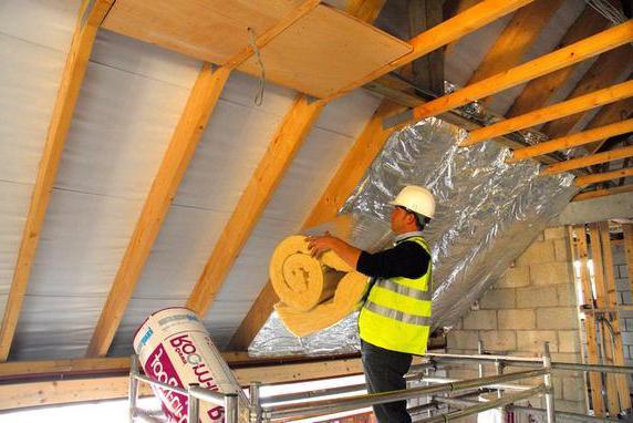 Утеплитель для крыши. Основные виды и характеристики