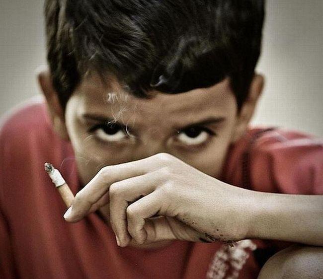 В чём состоит вред курения для подростков?