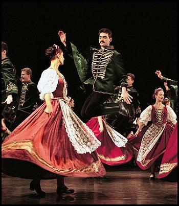 Венгерский танец - напевность и синкопа