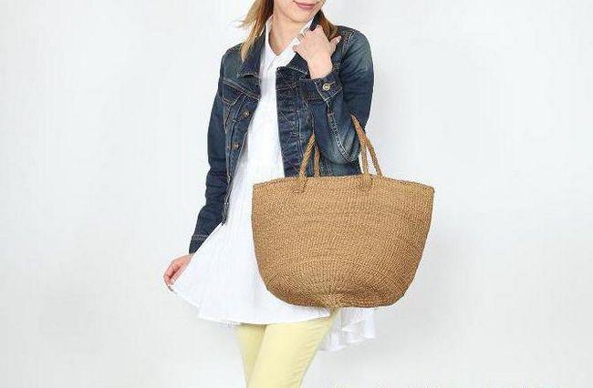 сизалевая веревка - сумка