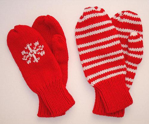 Вязание варежек – теплого аксессуара для зимы