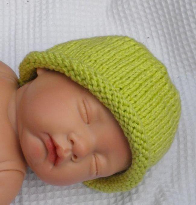 вяжем детскую шапочку