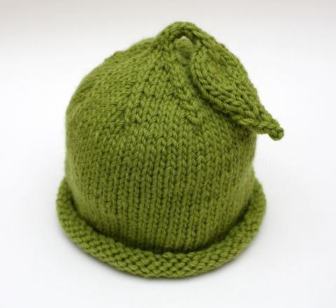 вязание шапки для детей