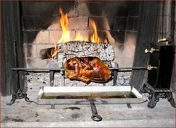 рецепт курицы гриль на вертеле