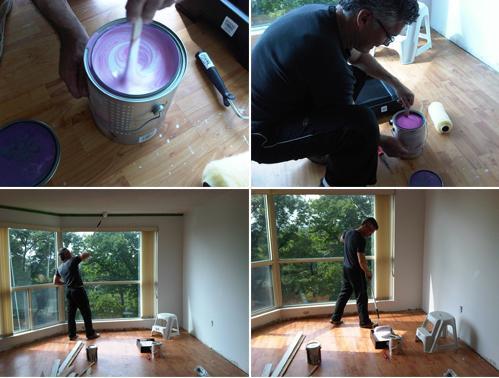 краска водоэмульсионная для потолка