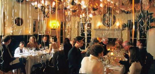 Новогодняя ночь в ресторане