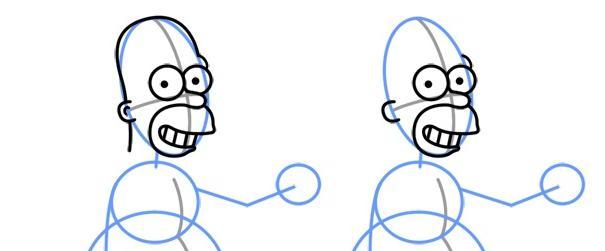 как рисовать симпсонов