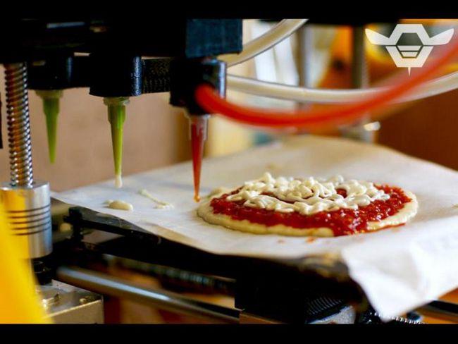 Вы бы хотели попробовать пиццу, напечатанную на 3d-принтере?