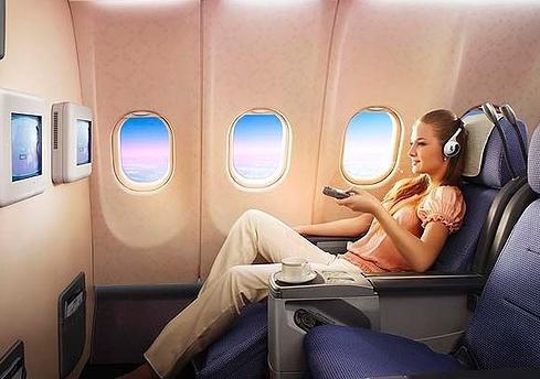 Самолет: бизнес-класс