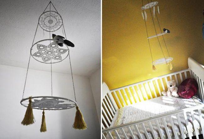 Мобили на кроватку для новорожденных