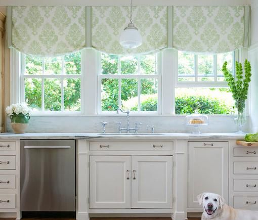 шторы для кухни римские шторы