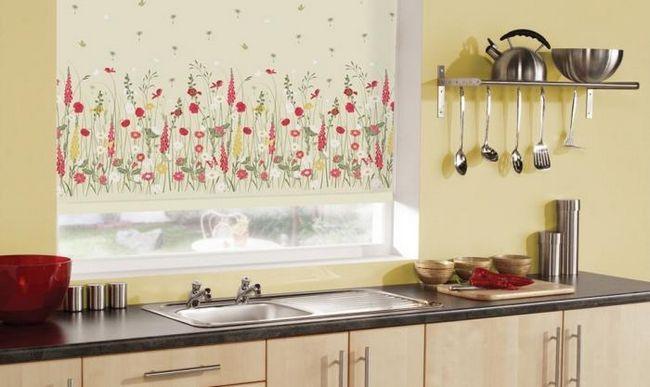 римские шторы для кухни цена