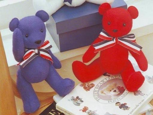 Выкройка мягкой игрушки: медвежонок