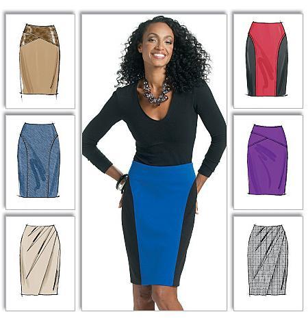 Выкройка прямой юбки - как сделать правильно?