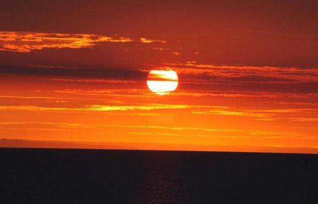 Восход заход солнца москва