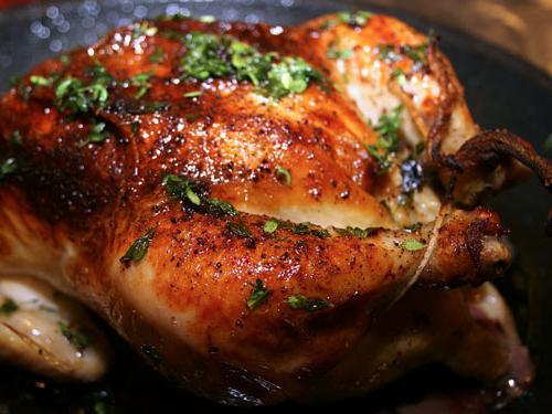 Рецепт куры в духовке