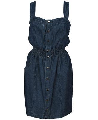 женские джинсовые сарафаны