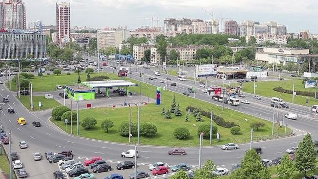 Знакомство с санкт-петербургом: площадь конституции