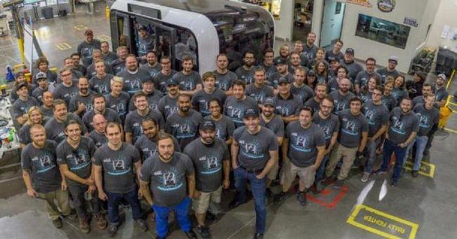 принтер автобус транспорт когнитивные технологии печать минибус беспилотник автоматическое управление дороги ездить