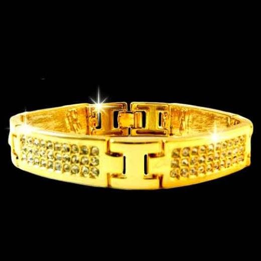 Золотые браслеты для мужчин – многовековая традиция и современная мода